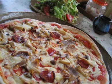 手作りピッツァの店