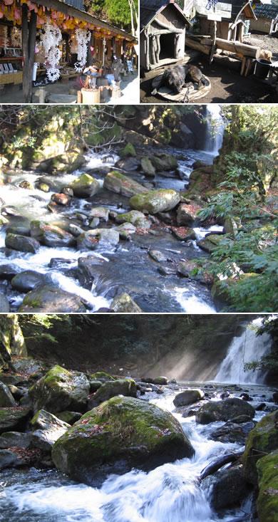 夫婦滝にも寄り道