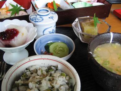優しい和食です