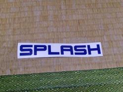 H23 7-3 SPLASH定例会 ステッカー