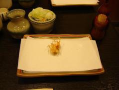天ぷらのお皿