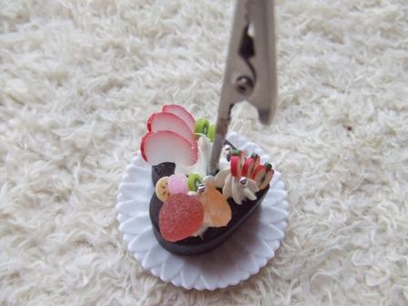 ケーキクリップ