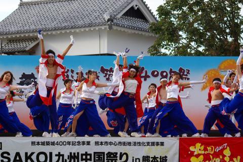 あっぱれ青組(熊本城)