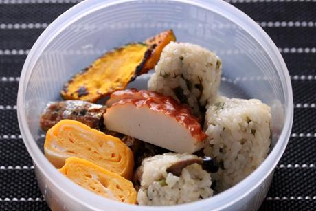 野沢菜混ぜご飯