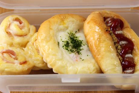 惣菜パン弁当2