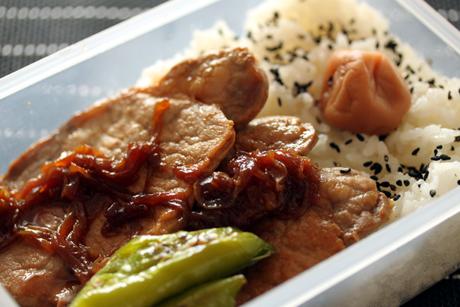豚しょうが焼き弁当2