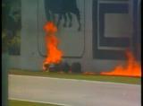 F1クラッシュ動画 イモラ タンブレノコーナー事故