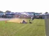 レーシングカートクラッシュ動画 N125