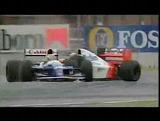 F1クラッシュ動画 セナ時代のF1