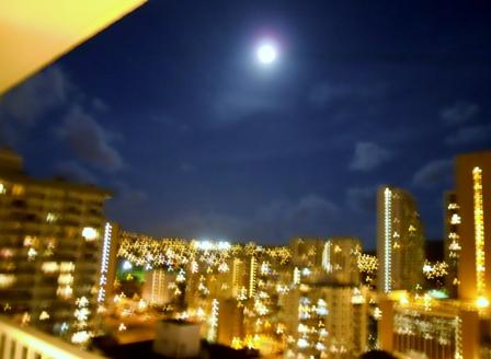 HONOLULU の夜