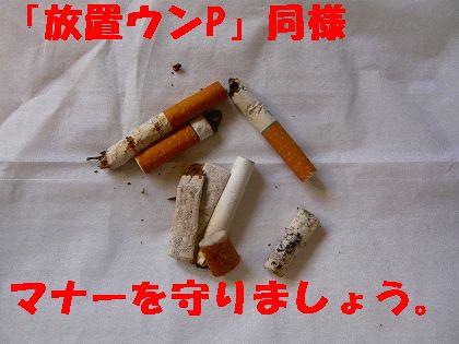 喫煙ルールを守ろう
