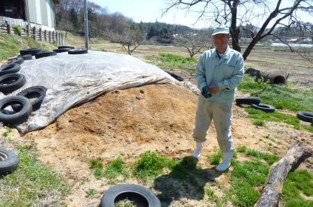 吉田さんの自慢の肥料