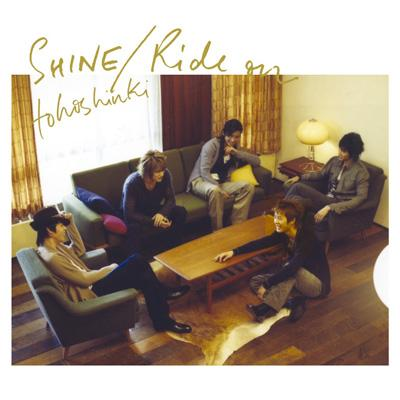 SHINE.Ride Onジャケ写(CD+DVD)