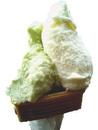 アイスクリームください