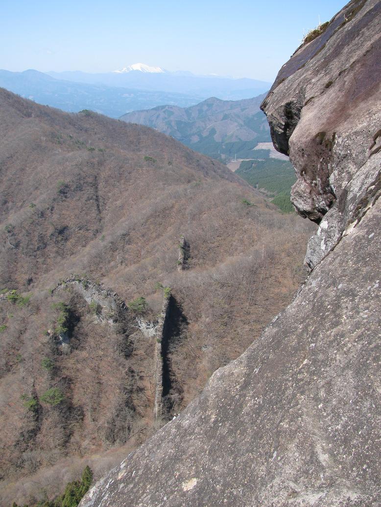 獅子岩の尾根ルート