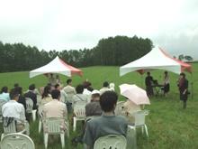牧草畑ウェディング003