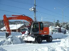 080126廃雪作業001