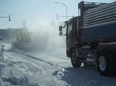080126廃雪作業002