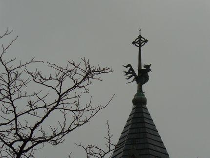 カトリック元町教会の風見鶏