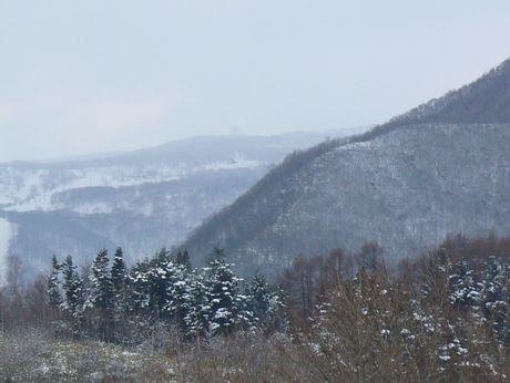 横津岳と庄司山