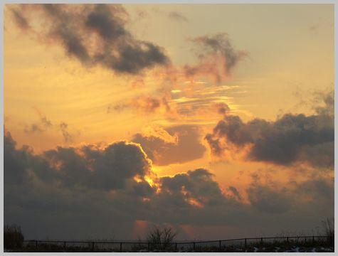 津軽海峡の夕暮れ1(16:02)