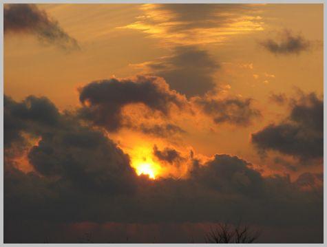 津軽海峡の夕暮れ3(16:05)