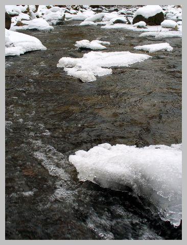 冬の亀田川