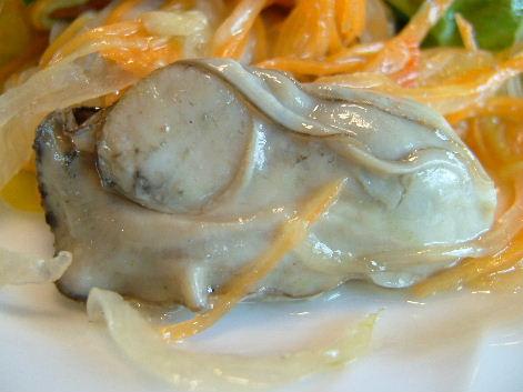 牡蠣アップ