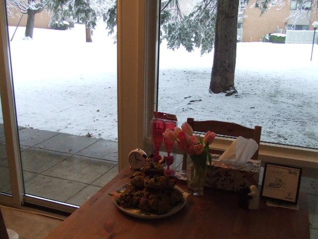 雪の日の午後