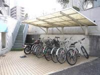 宇都宮の高層賃貸マンション:NARABU壱番館 駐輪場