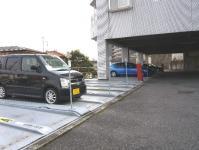 宇都宮の高層賃貸マンション:NARABU壱番館 駐車場