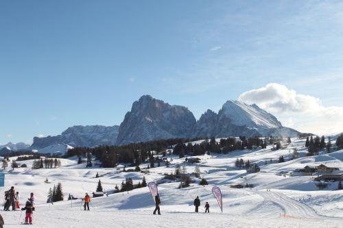 雪山の写真
