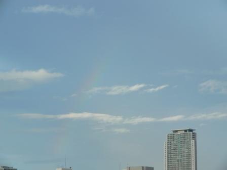 2011.9.1 朝の虹