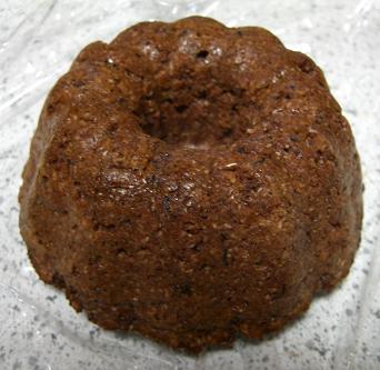 おからバナナココナツの黒糖ケーキ