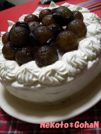 9月の誕生ケーキ