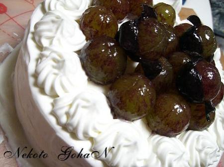 9月のケーキ