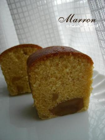 栗ケーキ2