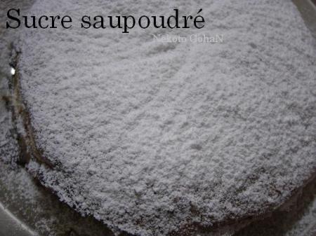 Sucre saupoudre
