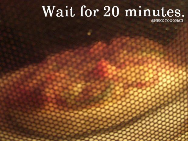 20分程、しばしお待ちを・・・