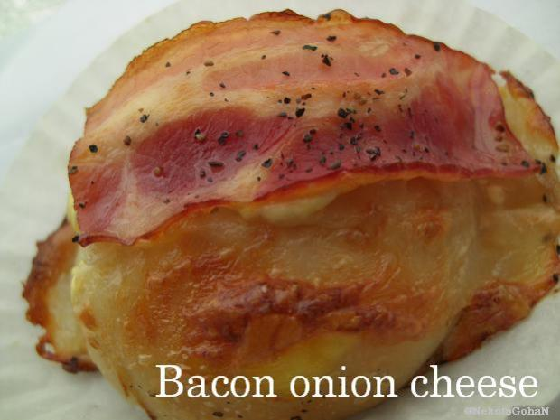 Bacon onion cheese