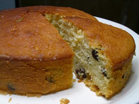 レーズンヨーグルトケーキ