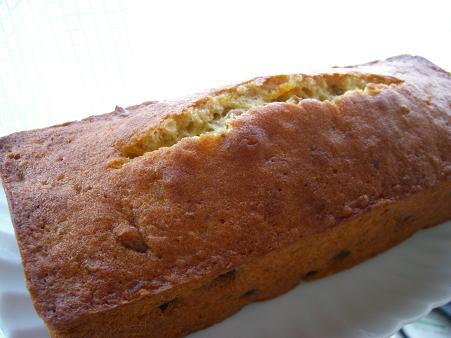 柑橘ピールと大粒レーズンと胡桃のパウンドケーキ 全体