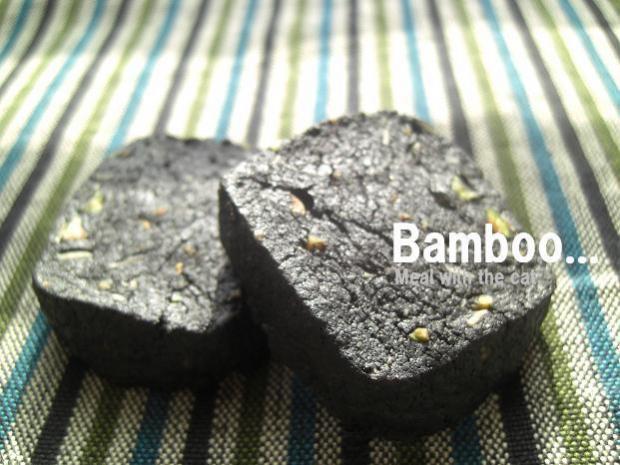 竹炭ショートブレッド