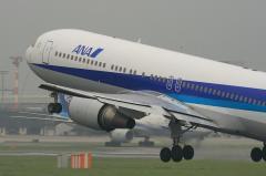 ANA B767-381 Airborne@スカパ