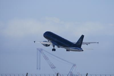 STARFLYER A320 RWY36 Airborne@北九州空港