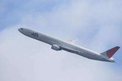 JAL B777-346 JL2081@瑞ヶ池