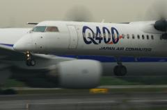 JAC DHC-8-Q400 RWY32L Landing