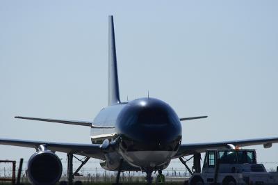STARFLYER A320 Pushback@北九州空港