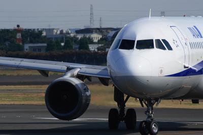 ANA A320 Arrival@AFO