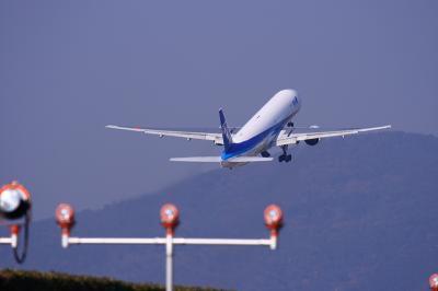 ANA B777-381 NH20 Airborne@東水門付近